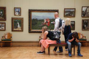 musée art Galerie voir Moscou attraction touristique ennui galerie d'art Trejakow exposition d'art