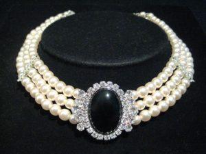 femme chaîne amour Matériel éclat Collier bracelet bijoux beau brillant perle perles gemme Colliers de perles Bijoux fantaisie Accessoires de mode