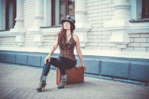 Style steampunk femme